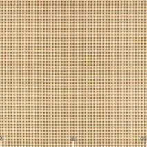 Ткань для штор, декоративных подушек мелкая клетка бежевого цвета тефлон