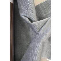 Однотонный бархат для штор серый цвет