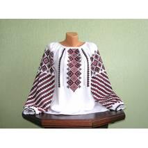 подільська вишита сорочка жіноча ручної роботи
