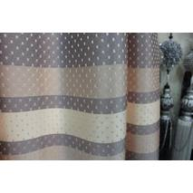 Ткань для штор горох полоса 2 метра ширина