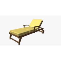 Уличная ткань светло-желтого цвета для штор, лежаков, беседки 83380v8