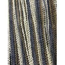 Нити-кисея Спиральки серо-коричнево-молочный цвет