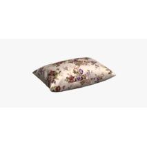 Ткань для штор в спальную комнату узор веточки бордовых и фиолетовых роз 81441v6