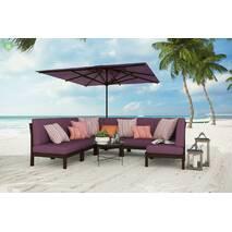 Ткань для штор розовая с водоотталкивающими свойствами уличная 83392v20