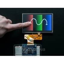 "TFT дисплей 4.3"" 480x272 с резистивным сенсором, 40 - pin 24 - bit Parallel RGB Interface"