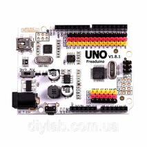 Freaduino UNO (аналог Arduino UNO с дополнительными возможностями)
