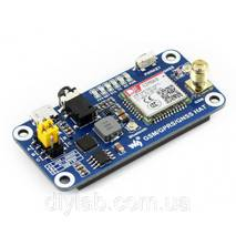 GSM/GPRS/GNSS/Bluetooth HAT для Raspberry Pi