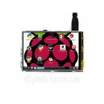 """RPi LCD (A) 3.5"""" (320×480, IPS резистивный сенсор) для Raspberry Pi от Waveshare"""