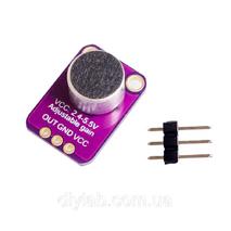 Датчик звука, микрофонный усилитель MAX4466