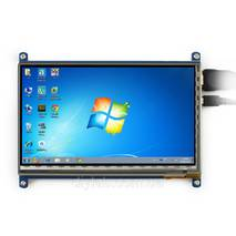 """HDMI LCD 7"""", 1024×600, IPS, Capacitive touch от Waveshare"""