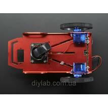Металлическая мини платформа для робота