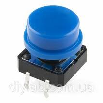 Кнопка 12x12x7.3мм с колпачком