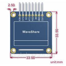LCD OLED 0.96'' 128x64 SPI/I2C Yellow-Blue