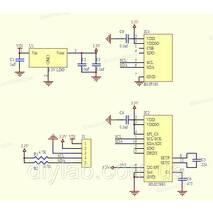 Модуль барометр, компас GY - 652 HMC5983, BMP180