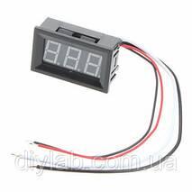 Цифровой амперметр постоянного тока 0-10А
