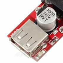 Понижуючий DC / DC стабілізатор з 7-24В до 5В 3А USB