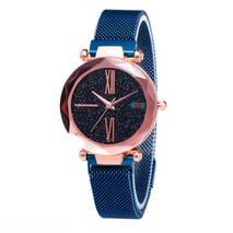 Жіночий годинник Starry Sky Watch на магнітній застібці Сині