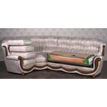 Угловой диван в гостиную Женове