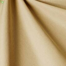 Однотонная уличная ткань сливочного цвета дралон для штор, скатертей 83383v11