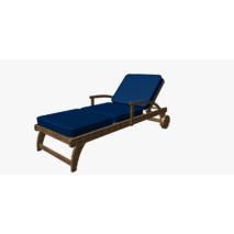 Однотонная уличная ткань темно-синяя акриловая для штор в беседку 83419v23