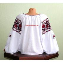 Черкасская вышиванка женская. старинный узор. ручная работа