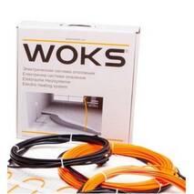 Тонкий двожильний нагрівальний кабель (секція) Woks (Україна) купити в роздріб