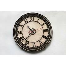 Дизайнерський настінний дерев'яний годинникBig Ben