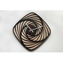 Дизайнерський настінний дерев'яний годинникTrend