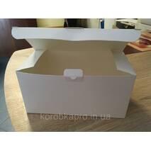 Подарочная коробка картонная универсальная белая 200х100х100 мм