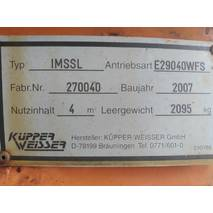 Установка для зимнего содержания дорог Kupper-Weisser IMSSL