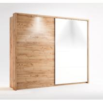 Стильный шкаф купе Асти фасады-комби