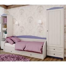 Ліжко диван Адель з висувними шухлядами
