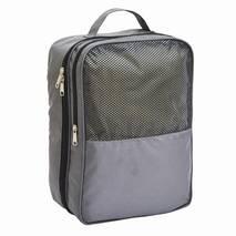 Дорожный органайзер для обуви Travelty Travel Shoes Case серый