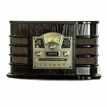 Ретро програвач Daklin Даллас шоколадний горіх (RP - 131)