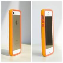 Бампер Evolutive Labs RhinoShield Crash Guard Orange для iPhone 6/6s