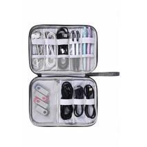Дорожній органайзер для кабелів Travelty Travel Cables Mate сірий