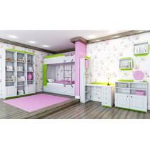 Угловой гардеробный шкаф Адель
