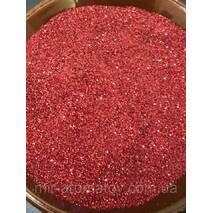 №4  глиттер  красный  100 грамм