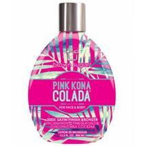 Крем для солярія Pink Kona Colada 200X з сатиновими бронзантами, кокосовим молочком та рожевою морською сіллю