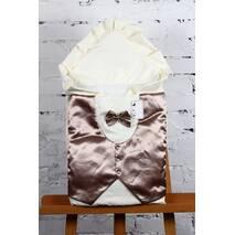 Зимний конверт-одеяло Lari King 85х85см шоколад