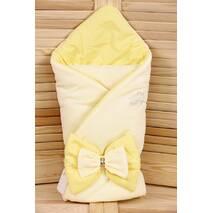 Демисезонный конверт-одеяло Lari Бант 85х85 см
