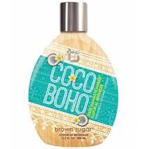 Крем для засмаги в солярії з бронзантами Сoco Boho 200X на основі кокосового молочка
