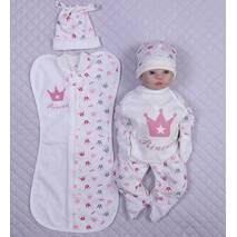 Набор одежды для новорожденного в роддом Lari 56