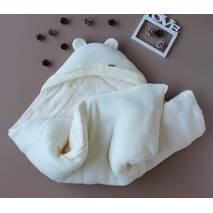 Зимний набор на выписку из роддома Мишкин молочный