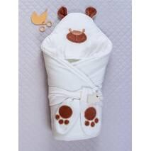 Зимний конверт-одеяло Lari Little Bear 85х85см белый