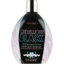 Крем для солярію REBELLIOUS BLACK 150X для моментальної бронзової гламурної засмаги з ефектом омолодження