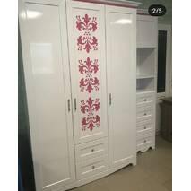 Шкаф для одежды Николь 2х дверный с ящиками
