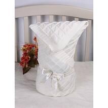 Демисезонный конверт-одеяло Lari Вязка 85х85 см айвори