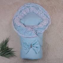 Зимний конверт-одеяло Brilliantbaby Очарование 90х90 см ментол