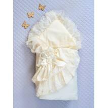 Зимний конверт-одеяло Lari Красотка 85х85см айвори